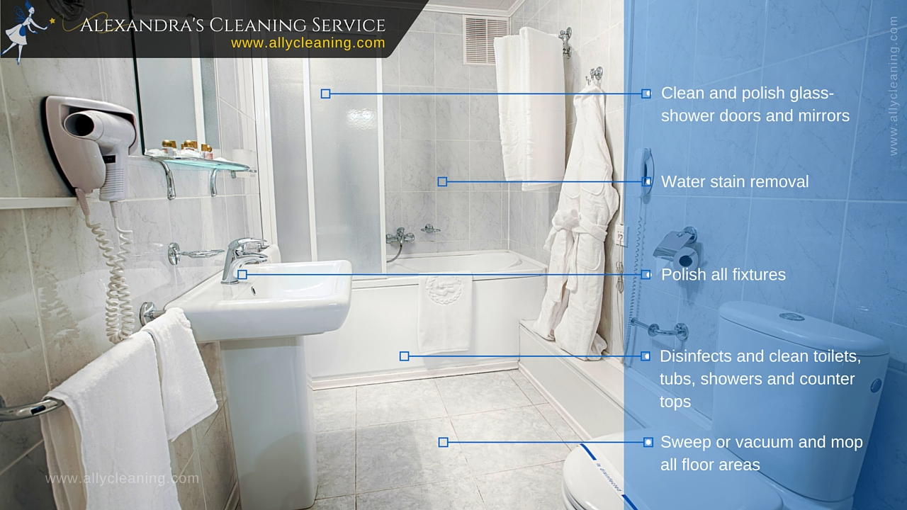 House cleaning maid professional service in coachella - How to professionally clean a bathroom ...