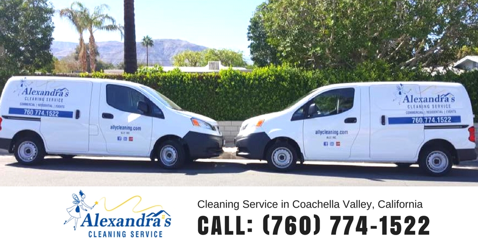 cleaning services vans palm desert ca